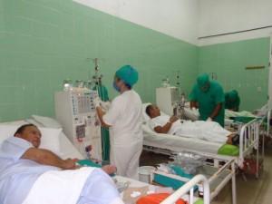 La sala de hemodiálisis del hospital de Yaguajay comenzó a prestar servicios desde el 2004.