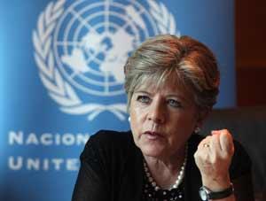 Alicia Bárcena, secretaria ejecutiva de la Comisión para América Latina y el Caribe (Cepal).