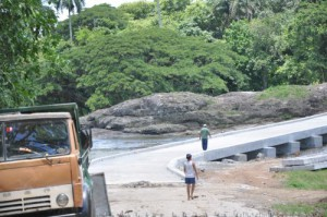El puente del poblado de Agabama beneficia a unos 2 000 habitantes de esa comunidad fomentense.