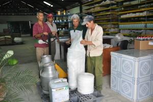 El punto ubicado en La Amistad, Taguasco, atiende 22 unidades entre cooperativas, UBPC y la Empresa Agropecuaria.