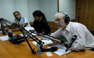 Noticiero Nacional de Radio. (foto: Juventud Rebelde)