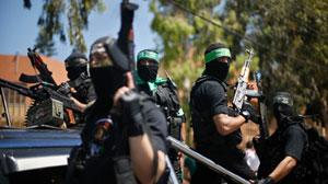 La Resistencia palestina rechazó hoy la exigencia israeli de desarmarse.