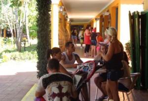 Actualmente hay una gran afluencia de turismo nacional a los hoteles trinitarios.