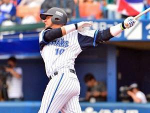 El cubano Yulieski Gourriel estuvo unos 40 días fuera del line up regular del Yokohama DeNA BayStars.
