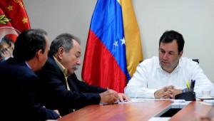 Firma de nuevos  convenios entre Cuba y Venezuela.  Foto AIN.
