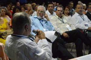 El profesor Álvarez Cambras pronunció una conferencia magistral en la jornada conclusiva. Foto Carlos Luis.