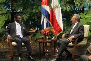 Ambos dirigentes resaltaron las fraternales relaciones entre los dos países. FOTO/ Ismael Francisco