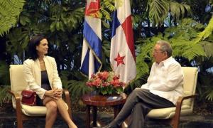 La vicepresidenta panameña expresó el interés de contar con Cuba en la VII Cumbre de las Américas, a efectuarse en su país el año entrante.
