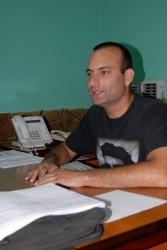 Isbel Reina Abreu, primer secretario de la UJC en Sancti Spíritus