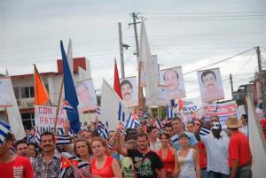 Los espirituanos han demandado reiteradamente la excarcelación de los cubanos en diversos escenarios.