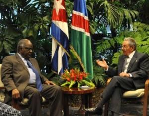 Ambos dirigentes constataron el excelente estado de las históricas relaciones bilaterales.