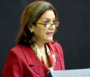 Elba Rosa Pérez, ministra cubana de Ciencia Tecnología y Medio Ambiente.