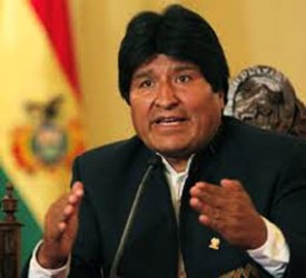 Evo Morales hizo referencia a diversos informes de la ONU que reconocen los logros de Bolivia en su lucha antidrogas.