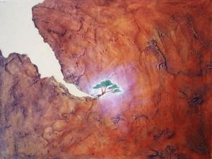 La obra pictórica más reciente de Hermes Entenza es conocida en los medios artísticos de Cuba y en otras latitudes geográficas.