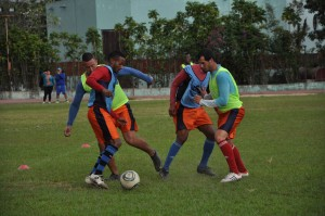 En Sancti Spíritus el fútbol se practica masivamente en diferentes lugares.