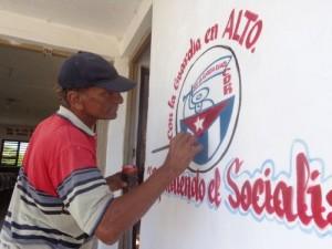 Desde hace 47 años Pinocho pone su oficio al servicio de los CDR y de la sociedad.