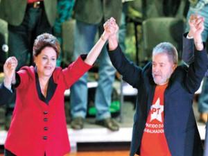 Lula se ha sumado a la campaña de la presidenta brasileña en busca de la reelección.