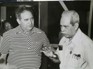 Con Blas Roca, compañero de lucha.