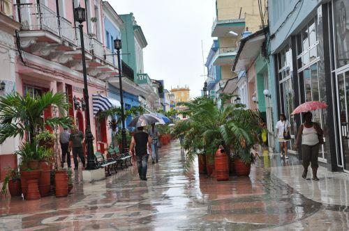 Las mayores precipitaciones han ocurrido en la zona centro-sur del territorio. (Foto: Vicente Brito)