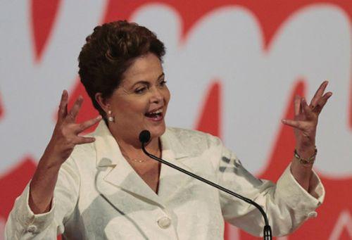 Dilma resultó triunfadora en la primera ronda electoral en Brasil con el 41.59 por ciento de los votos válidos.
