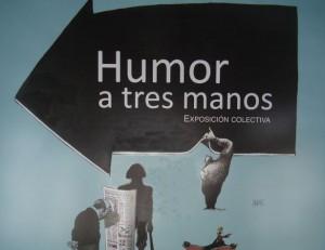 Humor a tres manos PÓSTER