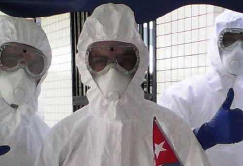 Un grupo de 165 profesionales de la salud cubana llegó a inicios de octubre a Sierra Leona.