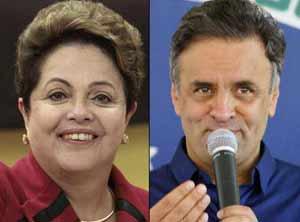 Dilma y Aécio Neves se enfrentarán el venidero 26 de octubre en la segunda vuelta por la presidencia de Brasil.