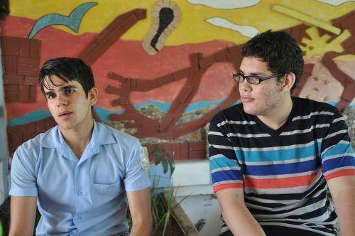Gracias a Daniel (izq.) y Marcos (der.) Sancti Spíritus obtuvo por primera vez dos medallas internacionales en un mismo curso escolar.