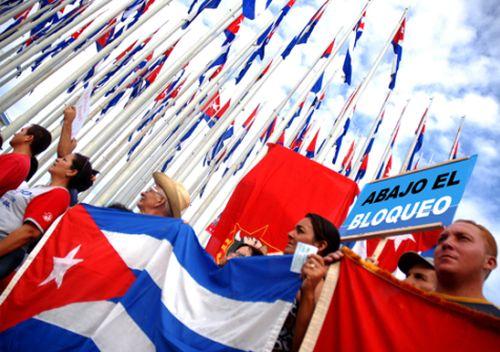 El bloqueo norteamericano a Cuba ha sido ampliamente condenado.