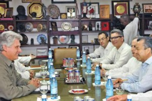 En el encuentro, el presidente del PRI brindó una valoración sobre el proceso de reformas estructurales que implementa su gobierno en la actualidad.