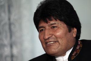 Evo Morales afirmó que cuando se involucra en alguna tarea lo hace de verdad.