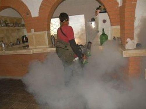 La fumigación sigue empleándose para acorralar al Aedes. (foto:Vicente Brito)