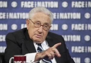 Henry Kissinger, secretario de Estado en la época.
