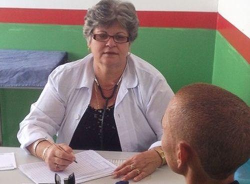 Maricel se desempeña otra vez como médico de la familia  en la comunidad Barrigada de Aníbal, en el estado brasilero de Salvador de Bahía.