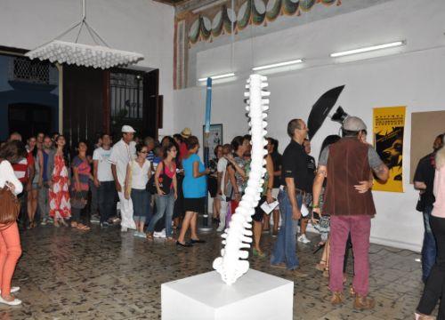 El Salón Provincial Oscar Fernández Morera se ratifica este año como la plataforma ideal para promover lo más novedoso del arte espirituano.