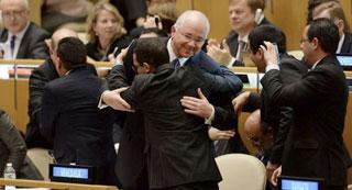 Para el Canciller venezolano, la votación de hoy demostró que la ONU pertenece a todos los estados.