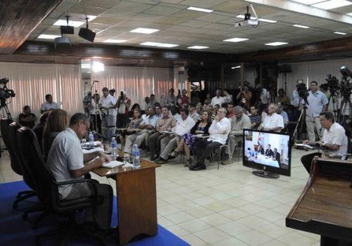 Videoconferencia La Habana- Washington, sobre afectaciones causadas por el bloqueo en el sector económico y financiero