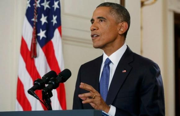 Obama durante el anuncio del decreto en materia migratoria. Foto: Reuters