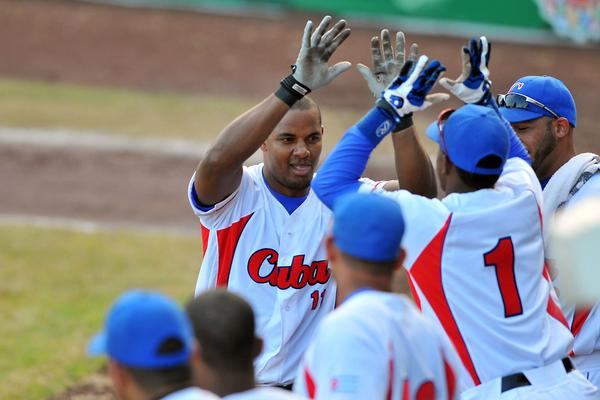 La selección cubana de béisbol discutirá este jueves el título de Vracruz ante Nicaragua.FOTO/Ricardo López  Hevia