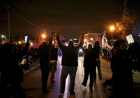 estados unidos, protestas, violencia, racismo, Ferguson