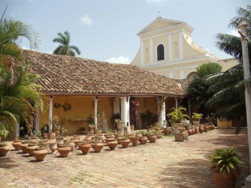 El Museo de Arquitectura refleja la arquitectura doméstica colonial de Trinidad.