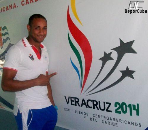 sancti spiritus, atletismo, yasniel carrero, juegos centramericanos y del caribe, veracruz 2014