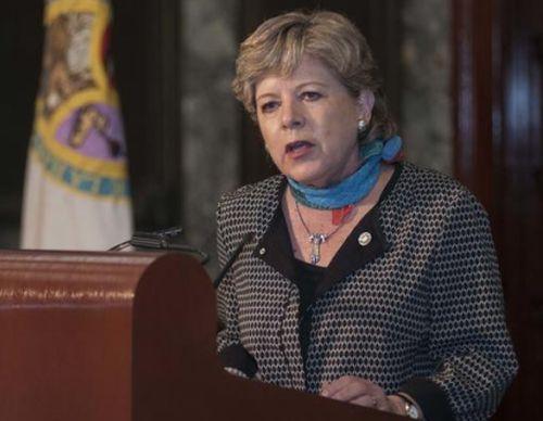 Alicia Bárcena, secretaria ejecutiva de la Comisión Económica para América Latina y el Caribe, (CEPAL)