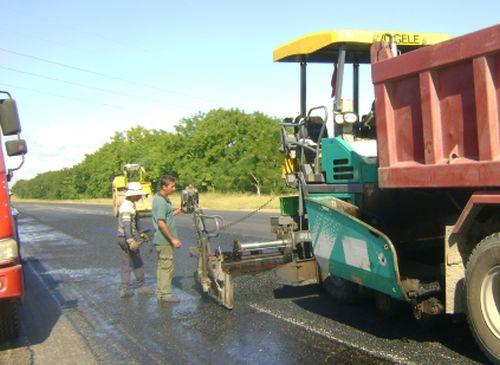 Hoy se trabaja en varios tramos de la Autopista Nacional.