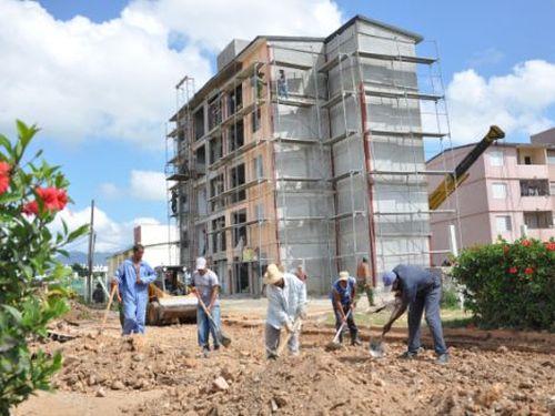 Con la terminación del edificio 10 de Trinidad se beneficiarán damnificados de eventos meteorológicos y familias que viven en condiciones precarias.