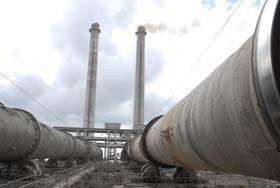 Este proyecto, ejecutado en la fábrica de cemento Siguaney, es resultado de una estrategia desarrollada entre Cuba y el Fondo Multilateral del Protocolo de Montreal.