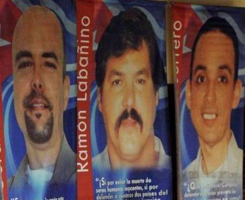 Gerardo Hernández, Ramón Labañino y Antonio Guerrero permanecen presos en Estados Unidos.
