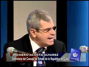 Homero Acosta intervino en la Tercera Comisión de la Asamblea General de la ONU.