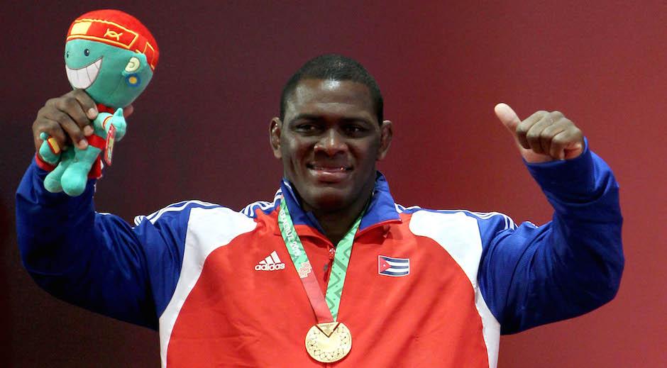Mijain López ganó el oro en Lucha Greco-Romana en la division de los 120 kg. Foto: Ismael Francisco