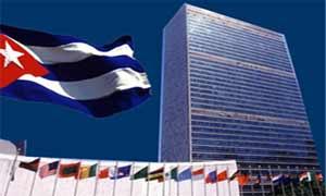 Cuba respaldó el proyecto de resolución presentado por Palestina ante el Consejo de Seguridad.